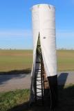 Premium-Winterschutz-System; 500 cm Höhe/ 75 cm Durchmesser (gedämmte Winterschutzhülle plus Gestell-Unterbau)