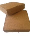 Palmenerde, Palmensubstrat, Pflanzsubstrat, Koskossubstrat, Pflanzerde, Anzuchterde, Kokosziegel, torffrei, ungedüngt, (ergibt ca. 60 Liter) VKZ 3; 3kg