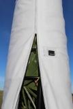 Premium-Winterschutz-System; 350 cm Höhe/ 75 cm Durchmesser (gedämmte Winterschutzhülle plus Gestell-Unterbau)