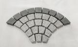 Granitpflaster Rundbogen 2 cm dick